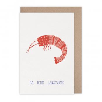 Carte Langoustine