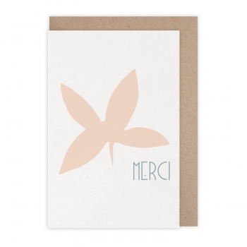 Carte Merci feuille