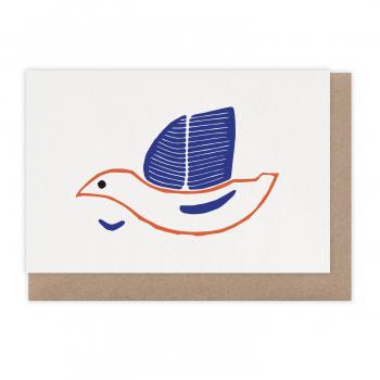 Carte Oiseau bateau