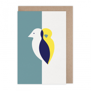 Carte Oiseau duo