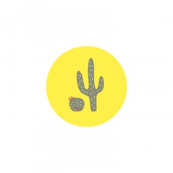 Badge Cactus