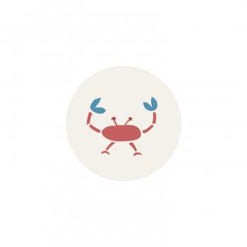 Badge Crabe 2
