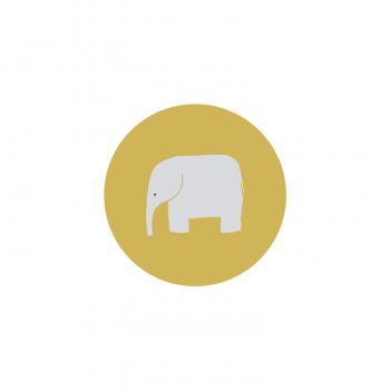 Badge Éléphant