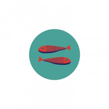 Badge Sardines