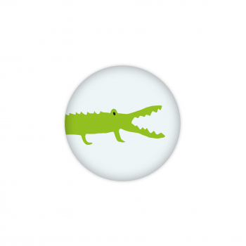 Badge Crocodile