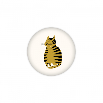 Badge Gros chat