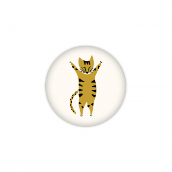 Badge Hello Tiger !