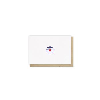 Mini card Marinière