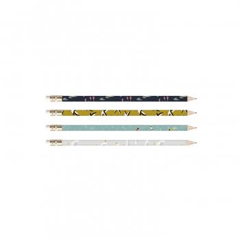4 pencils • set 4
