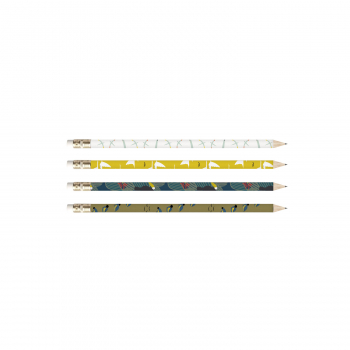 4 crayons de papier • lot 6