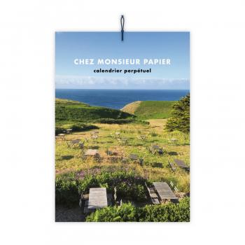 Chez Monsieur Papier calendar