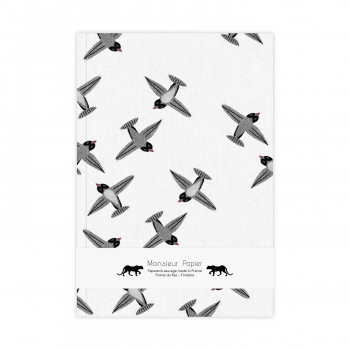 Notebook M Swallow