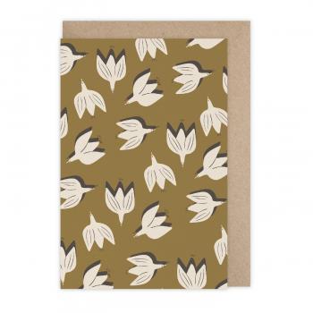 Card Flowerbird