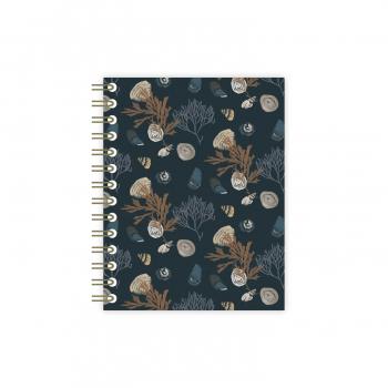 Spiral notebook Trésors de mer