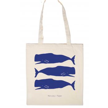 Tote Bag Baleines