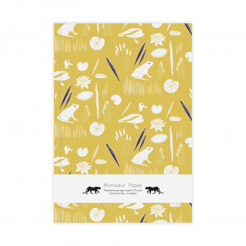 Notebook M Grenouilles