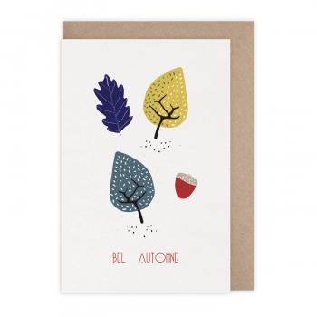 Carte Bel automne