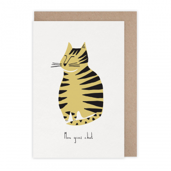 Card Gros chat