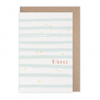 Card Merci océan