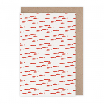 Card Poissons rouges