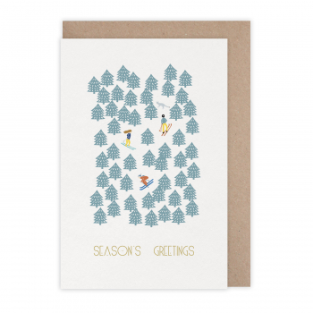 Card Season's greetings alpin