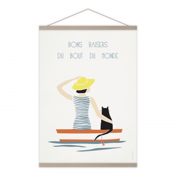 Affiche Bons baisers barque