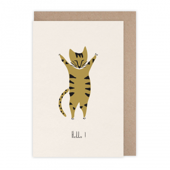 Card Hello Tiger !