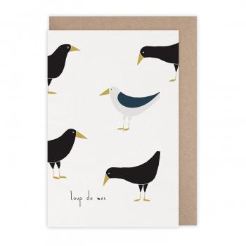 Card Loup de mer