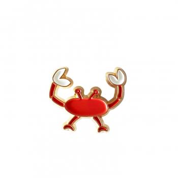 Pin's Crabe