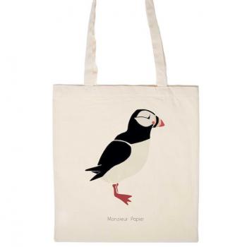 Tote Bag Macareux 1