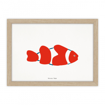 A4 Print Poisson-clown