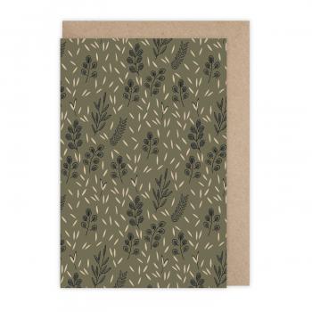 Carte Sous les oliviers