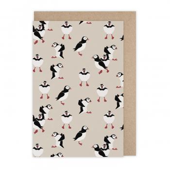 Card Puffin