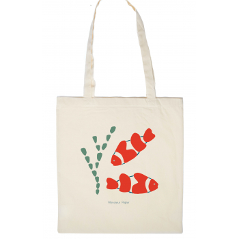 Tote Bag Poisson-clown