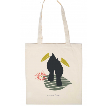 Tote Bag Toucans