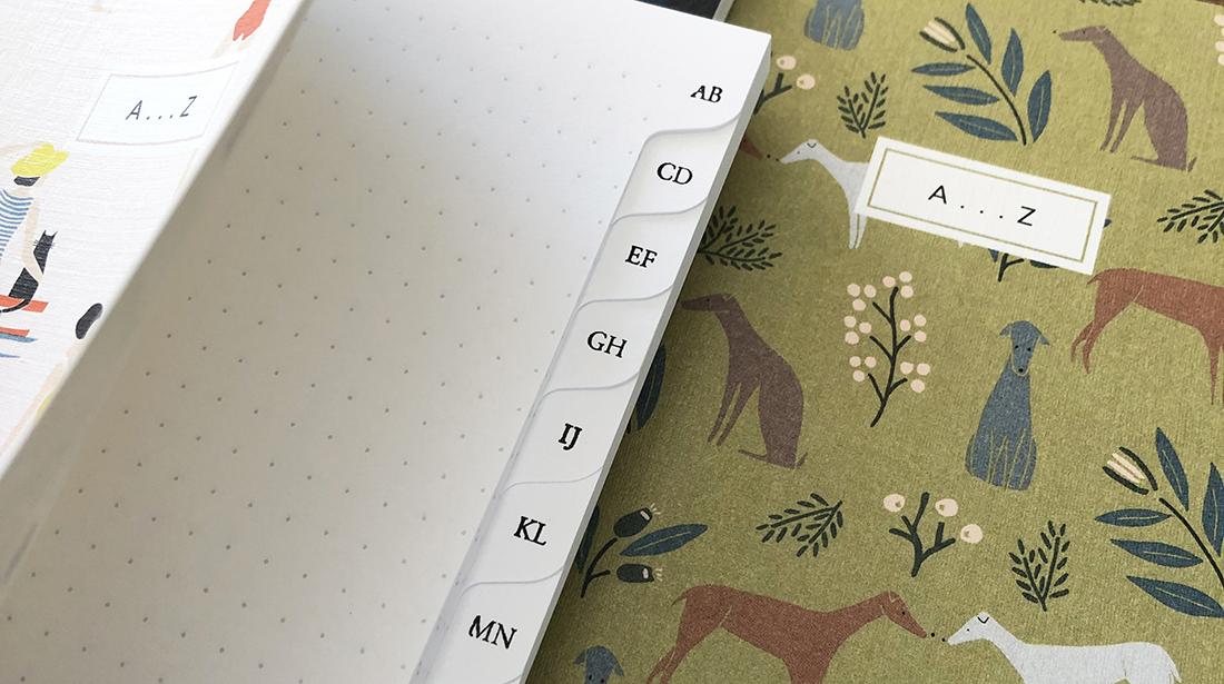 Index notebooks